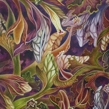 """""""10 August 2008"""" Watercolor 40 x 50 cm"""