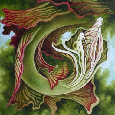 """""""11 March 2009"""" Watercolor"""