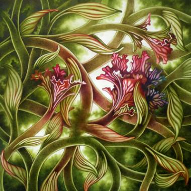 """26 May 2013"" Watercolor 55 x 55 cm"