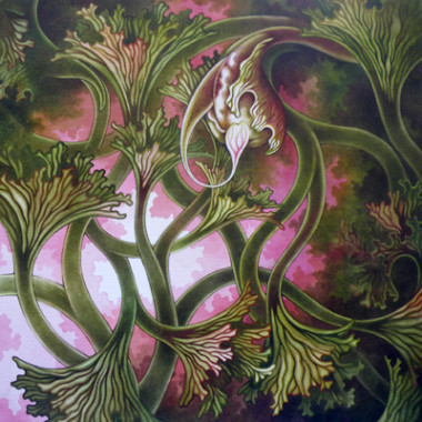 """27 June 2013"" Watercolor 55 x 55 cm"