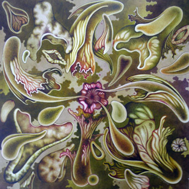 """15 October 2012"" Watercolor 55 x 55 cm"