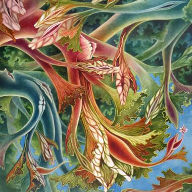 """September 2008"" Watercolor 55 x 60 cm"