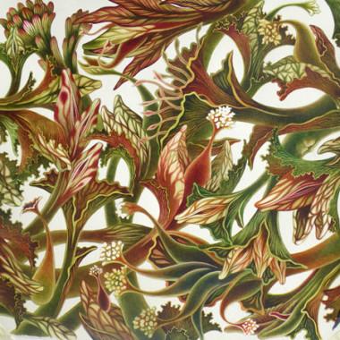 """October 2008"" Watercolor 55 x 55 cm"