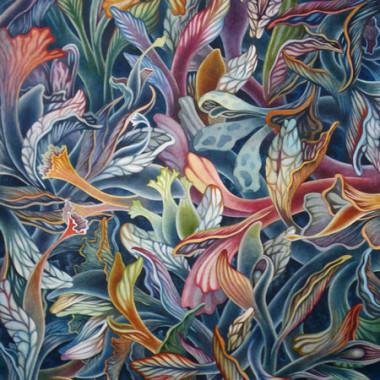 """13 May 2009"" Watercolor 55 x 75 cm"