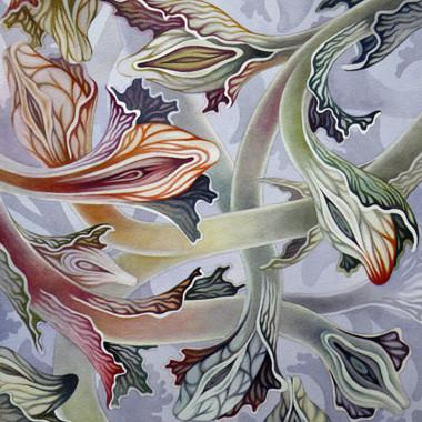 """""""22 August 2009"""" Watercolor 40 x 42 cm"""
