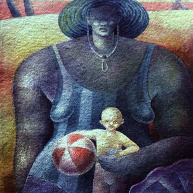 """""""Woman 8"""" 1998"""