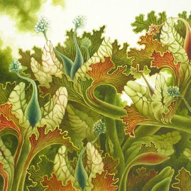 """""""Eva March 2007"""" Watercolor 60 x 50"""