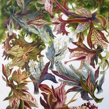 """20 October 2007"" Watercolor 55 x 75 cm"