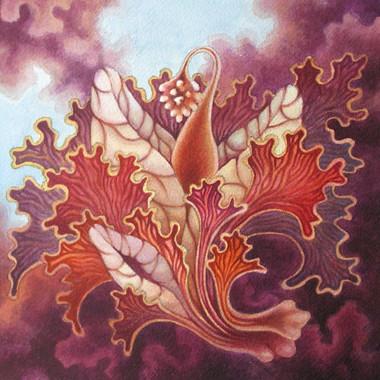 """April 2007"" Watercolor 30 x 28 cm"