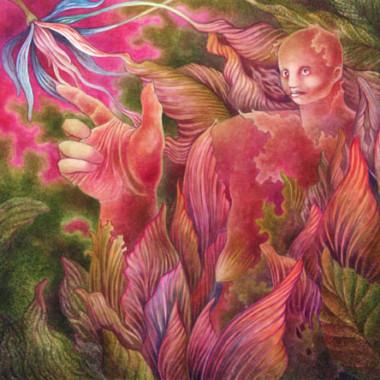 """""""Woman 1, 2005"""" 55 x 55 cm"""