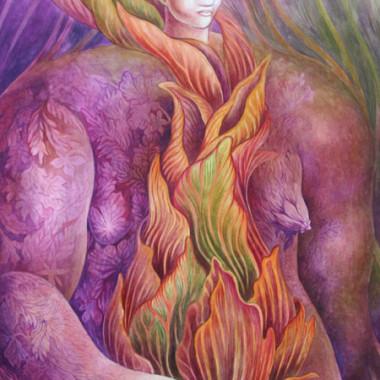 """""""Woman 3, 2005"""" 55 x 75 cm"""