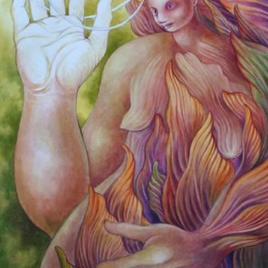 """""""Woman 5, 2005"""" 55 x 75 cm"""