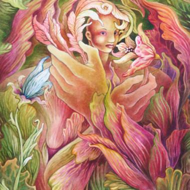 """""""Woman 6, 2005"""" 55 x 70 cm"""