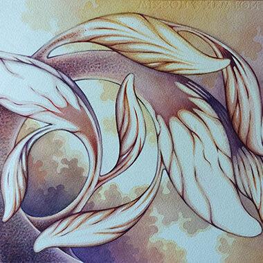 """Emma 10 June 2021"" Watercolor 32 x 26 cm"
