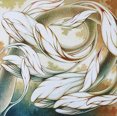 """12 September 2021"" Watercolor 40 x 33 cm"