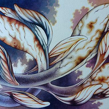 """26 May 2021"" Watercolor 43 x 30 cm"